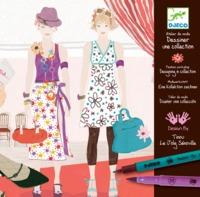 Djeco Design Drawing a Fashion Show