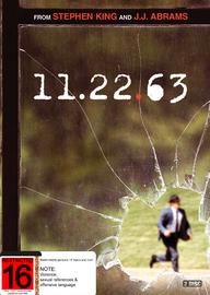 11.22.63 on DVD