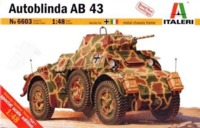 Italeri: 1:48 Autoblinda AB 43 - Model Kit