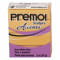 Sculpey Premo Accent 18k Gold (57g)