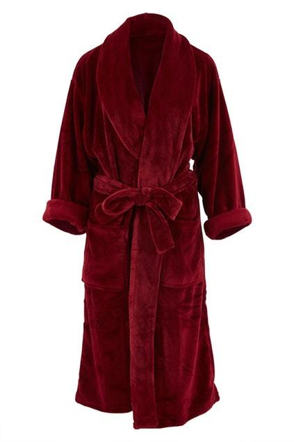 Bambury Merlot Microplush Robe (Small/Medium)