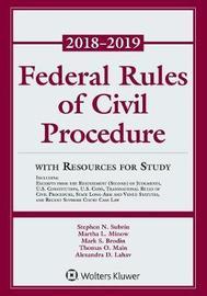 Federal Rules of Civil Procedure by Stephen N Subrin image