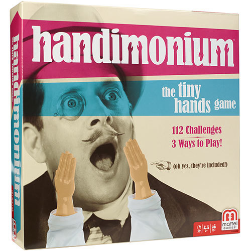 Handimonium - The Tiny Hands Game