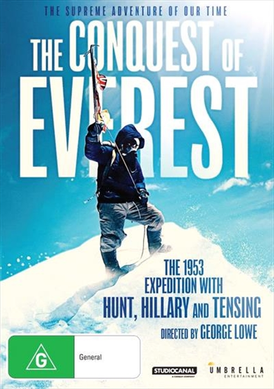 The Conquest Of Everest on DVD