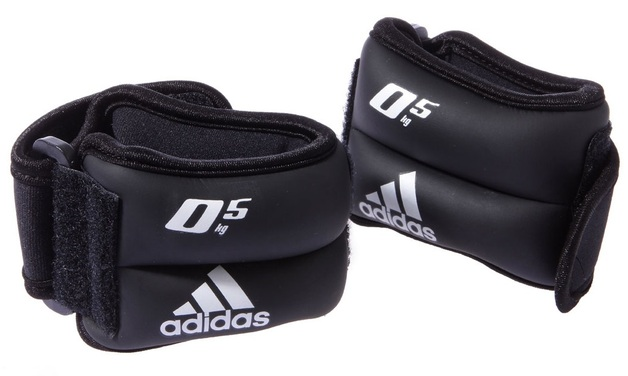 Adidas Ankle and Wrist Weights (2 x 0.5kg)
