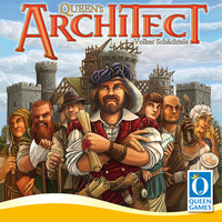 Queen's Architect - Board Game