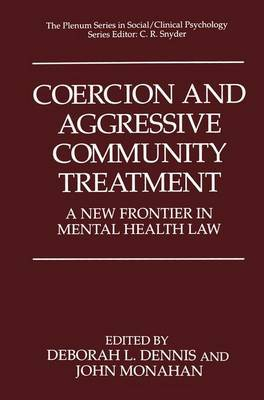 Coercion and Aggressive Community Treatment image