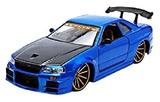 Jada: 1/24 Btk 2003 Nissan Gt-r R34 – Diecast Model