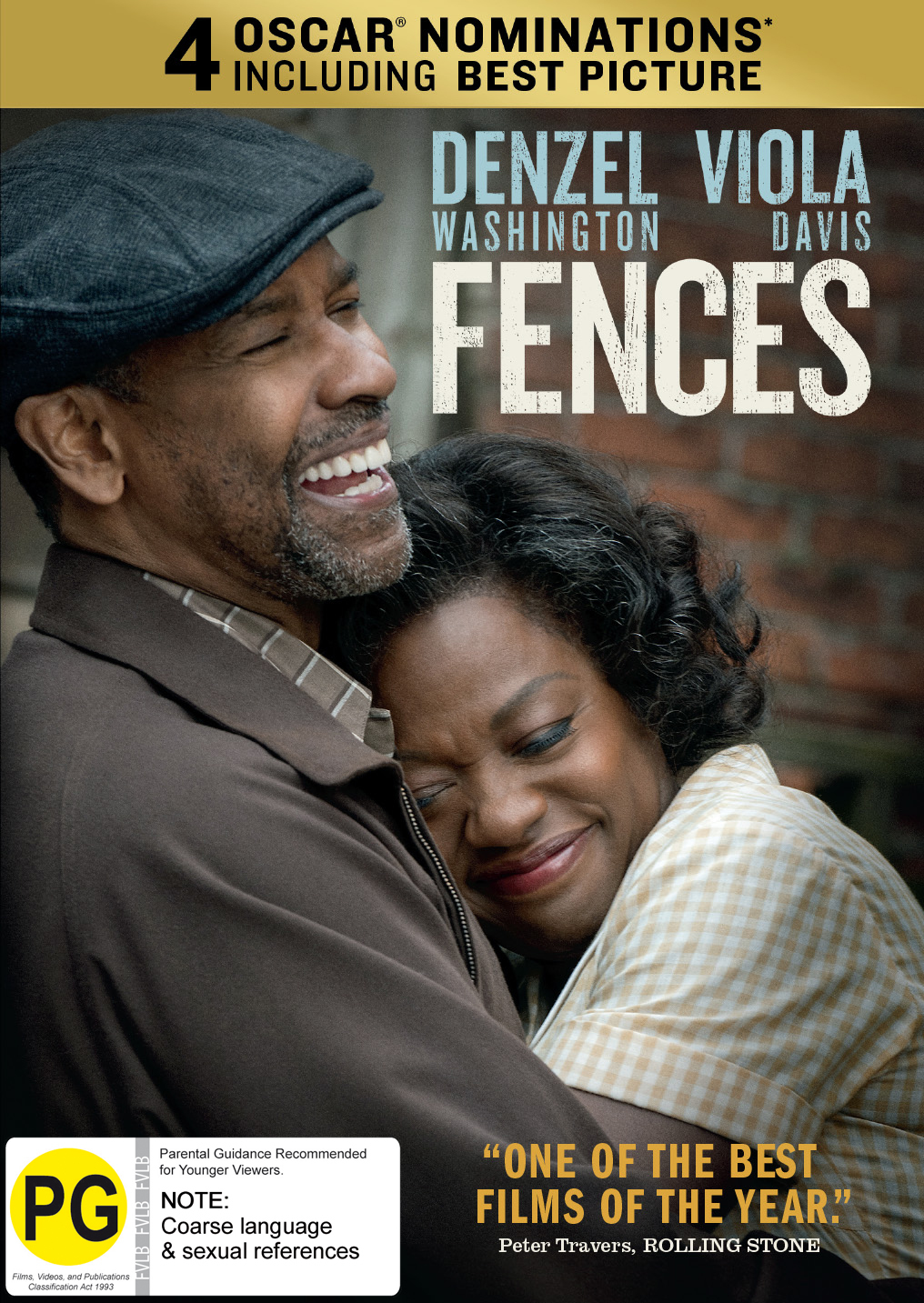 Fences on DVD image