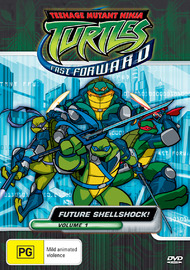Teenage Mutant Ninja Turtles - Fast Forward: Vol. 1 - Future Shellshock! on DVD image