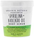 Organik Botanik Body Scrub Tub - Spirulina & Avocado (200gm)