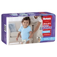 Huggies: Ultra Dry Nappy Pants - Size 5 Walker Boy (30)