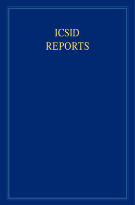 ICSID Reports 16 Volume Set ICSID Reports: Volume 11 image