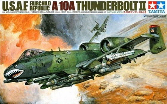 Tamiya U.S. A-10 Thunderbolt II 1/48 Aircraft Model Kit