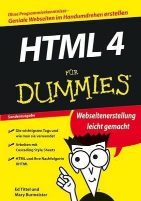 HTML 4 fur Dummies by Ed Tittel