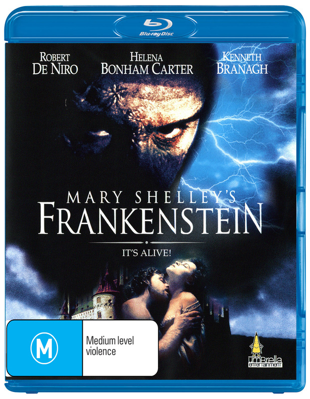 a review of the kenneth branagh directed motion picture of mary shellys frankenstein Frankenstein (1994) trailer, review a musical version of the kenneth branagh directed mary.