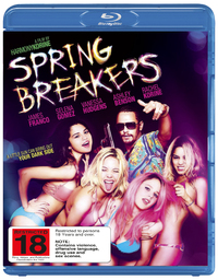 Spring Breakers on Blu-ray