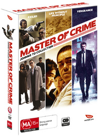 Master of Crime: Johnnie To Collection Box Set on DVD