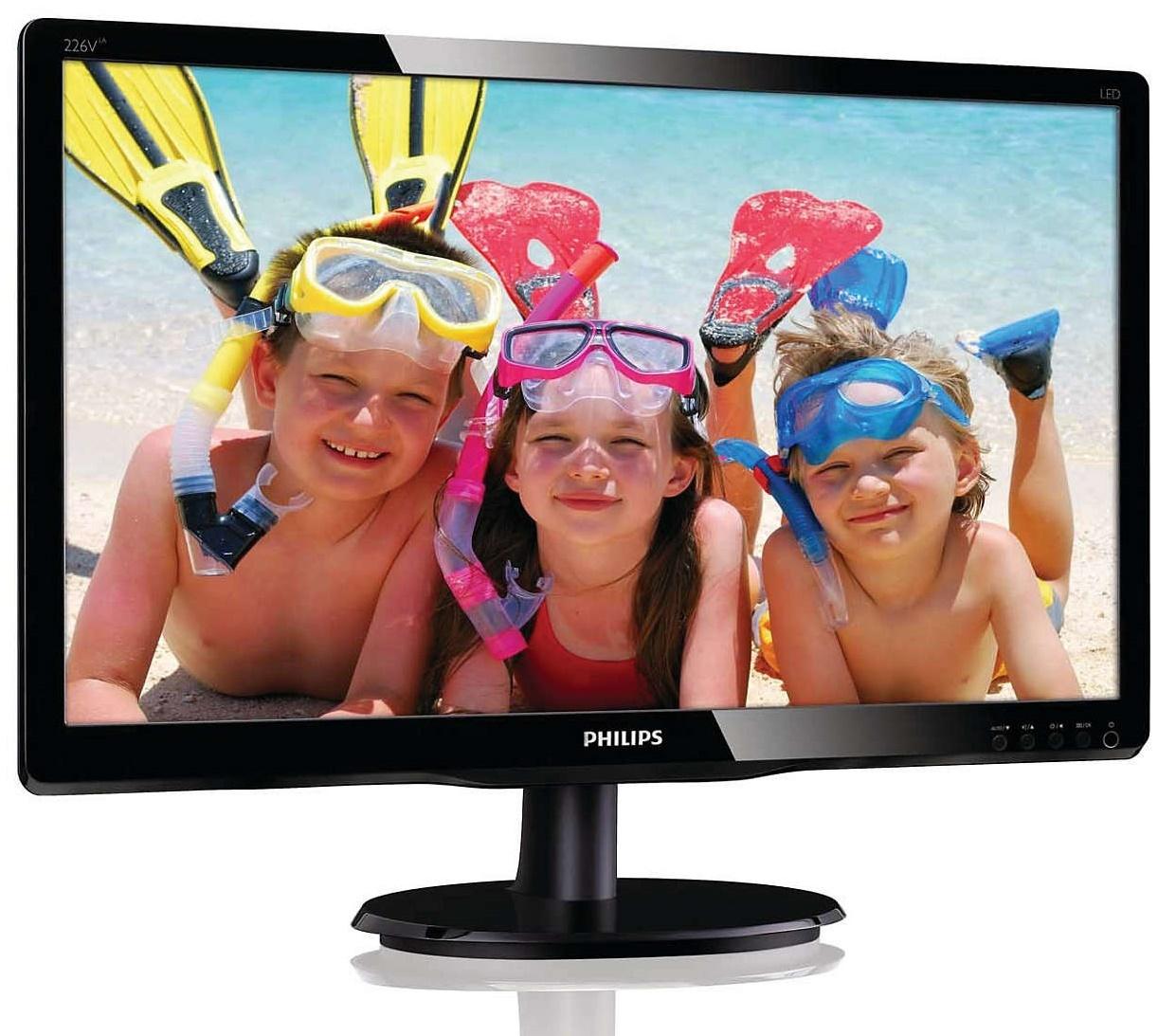 "21.5"" Philips V Line - 5ms LED-Backlight LCD Monitor image"