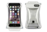 """DiCaPac Waterproof Case for 5.7"""" Smartphones (White)"""