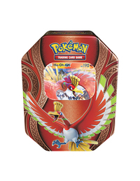 Pokemon TCG Mysterious Powers Tin: Ho-Oh-GX