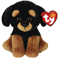 Ty Beanie Babies: Trevour Rottweiller - Small Plush image