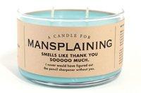 Whiskey River Co: Candle - Mansplaining