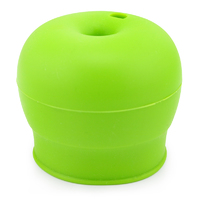 Haakaa: Silicone Round Sippy Top - Green