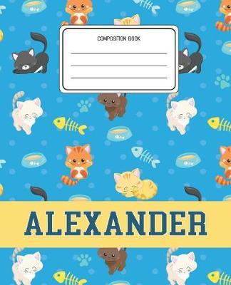 Composition Book Alexander by Cats Composition Books