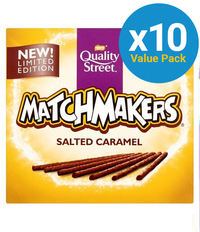 Quality Street Matchmakers Salted Caramel 130g (10 Pack) image