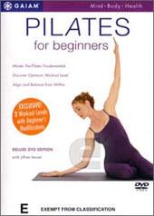Pilates for Beginners on DVD