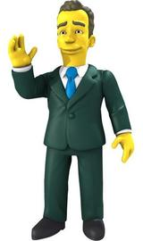 The Simpsons 25th Anniversary Tom Hanks Action Figure