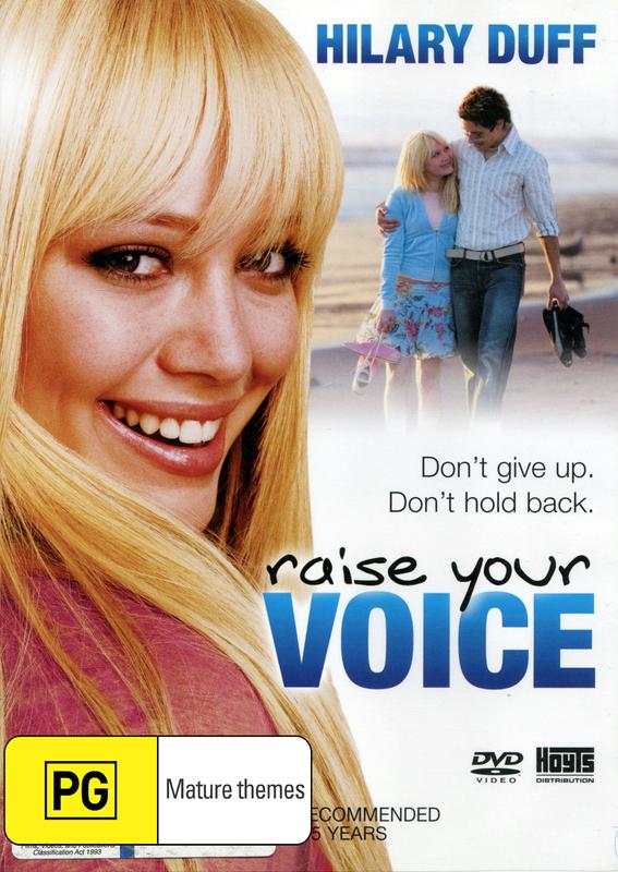 Raise Your Voice on DVD