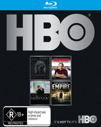 HBO Starter Box Set - Game of Thrones / Boardwalk Empire / The Newsroom / The Sopranos on Blu-ray