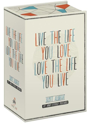 Live the Life You Love Postcard Box: 100 Postcards by Scott Albrecht