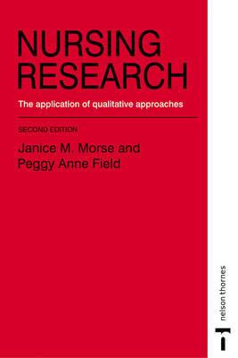 NURSING RESEARCH by Janice M. Morse