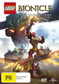 Lego Bionicle: The Journey To One - Season 1 Vol.1 on DVD image