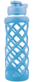 Oasis Glass Water Bottle - Sky Blue (700ml)