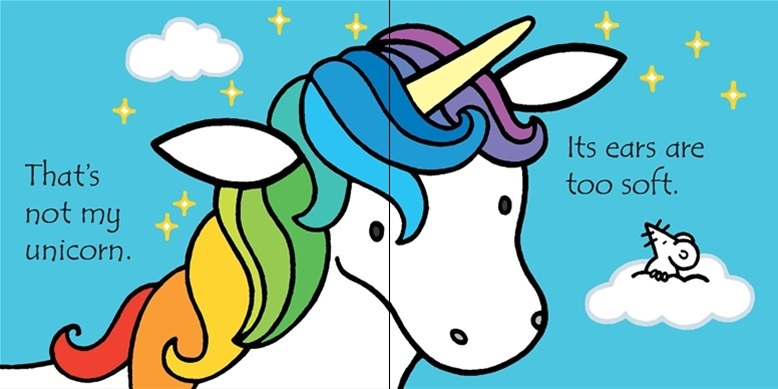 That's Not My Unicorn (Touch & Feel) by Fiona Watt image