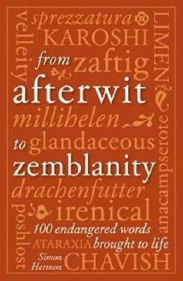 From Afterwit to Zemblanity by Simon Hertnon