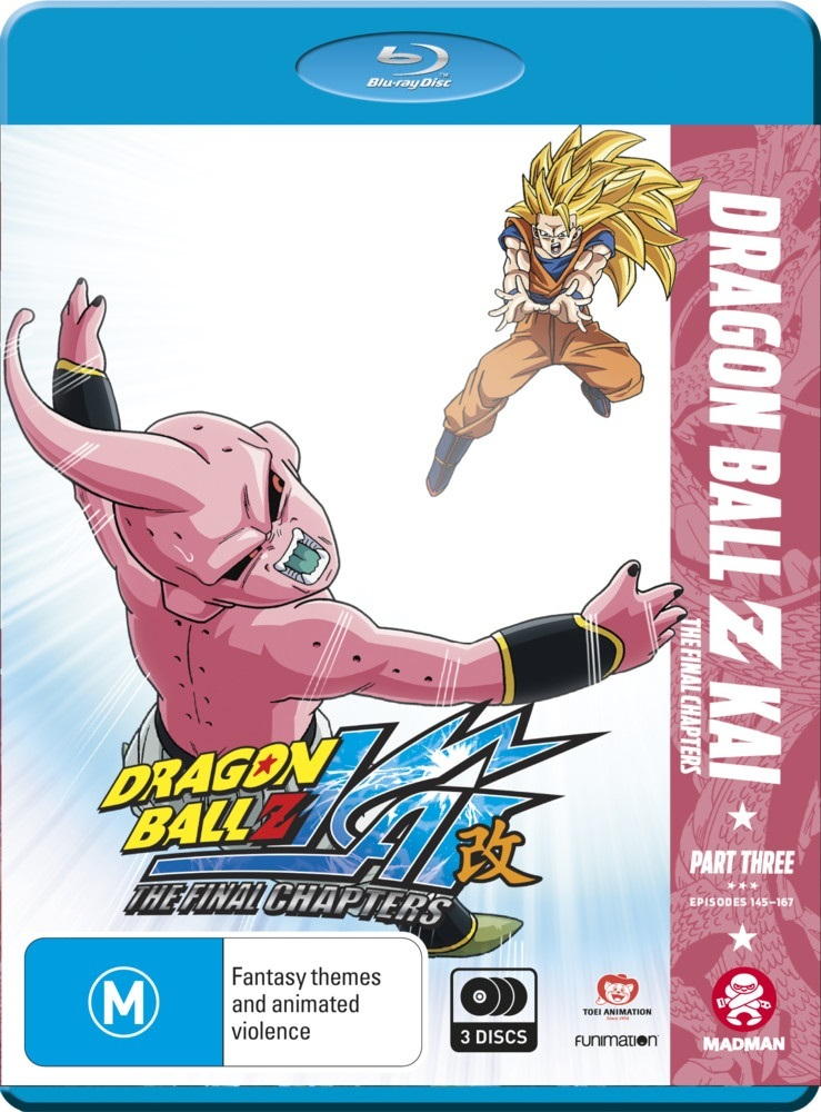 Dragon Ball Z Kai: The Final Chapters - Part 3 (eps 48-71) on Blu-ray image