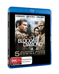 Blood Diamond on Blu-ray image