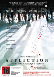 Affliction on DVD image