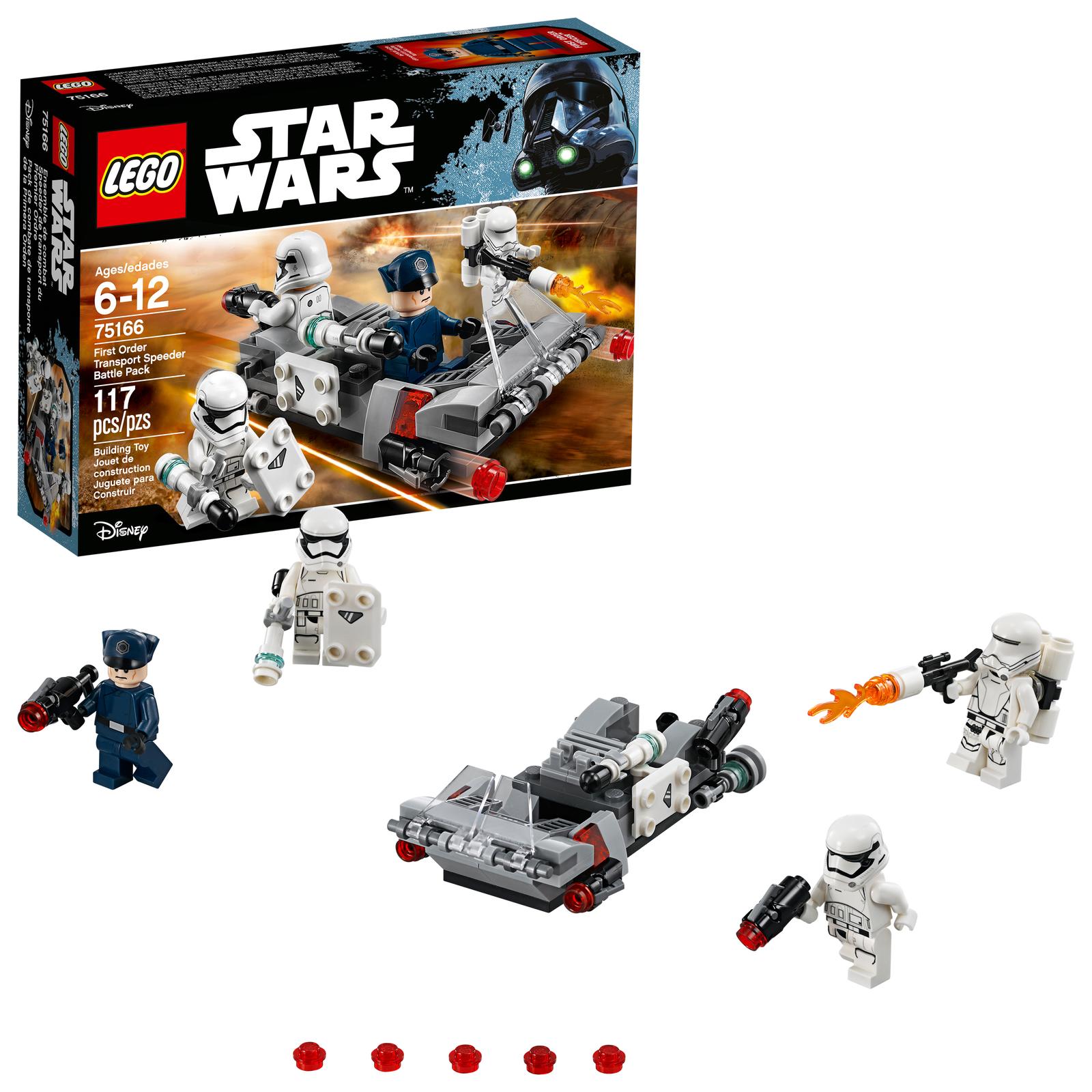 Bouwspellen Complete sets Lego Star Wars 75166 First Order