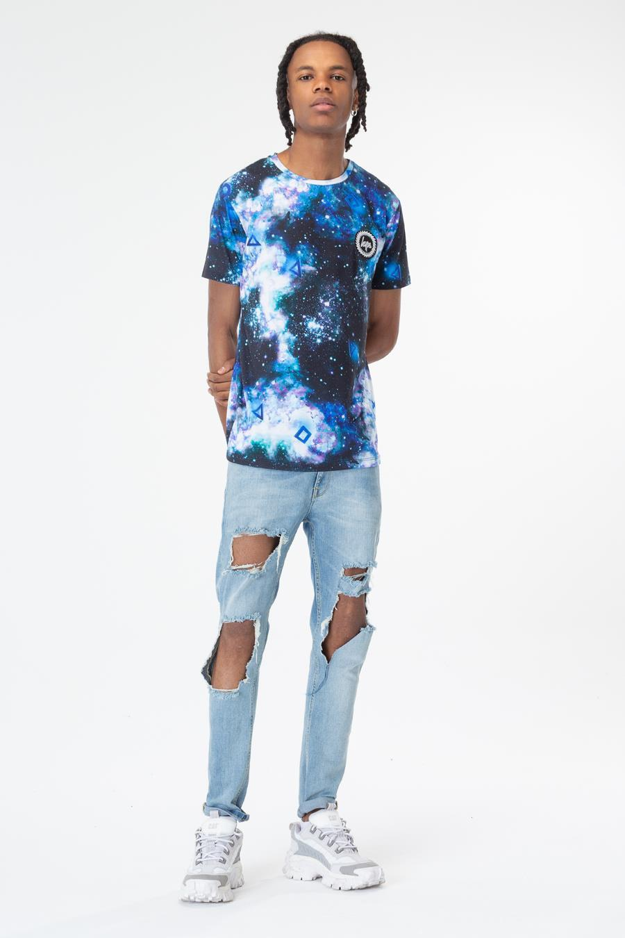 Just Hype: PlayStation Multi Space Mens T-Shirt - Xlarge image