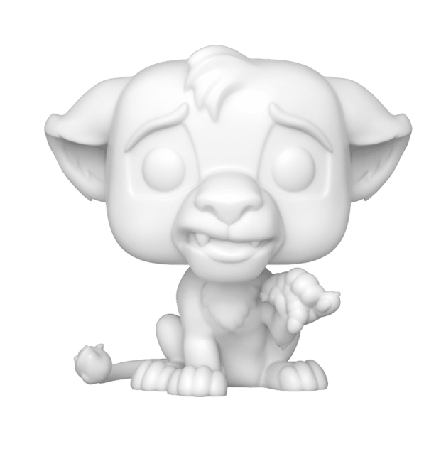 Disney: Simba - D.I.Y. Pop! Vinyl Figure