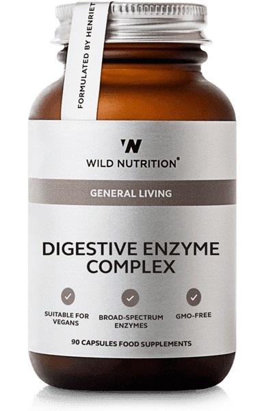 Wild Nutrition Food Grown Digestive Enzyme (90 Caps)