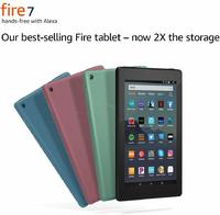 Amazon All-New Fire 7 Tablet (2019) 16GB - Black