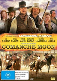 Comanche Moon on DVD