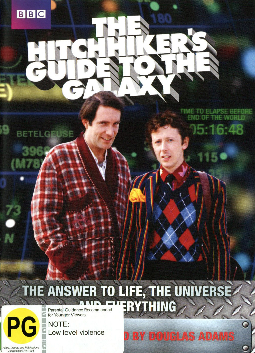The Hitchhiker's Guide To The Galaxy (2 Disc series) on DVD image